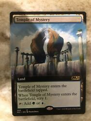 Temple Of Mystery BORDERLESS Extended Art Core Set 2021 NM MTG In Hand