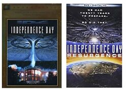 INDEPENDENCE DAY 1 ONE 2 TWO RESURGENCE + DIGITAL HD (DVD) - NEW!! $5.99