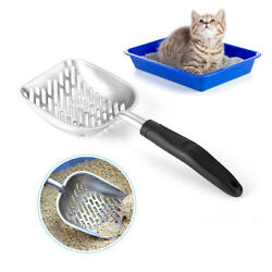 Strong Cat Litter Metal Scooper Scoop Sifter Shovel Clean Cleaning Pet Box Tool $8.99