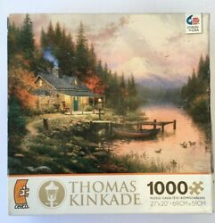Ceaco Thomas Kinkade The End of a Perfect Day 1000 Piece puzzle 27 x 20 $19.67