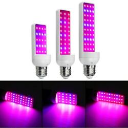 4W 6W 8W 203040LED E27 LED Grow Light Bulb Full Spectrum Indoor Plant Lamp $12.62