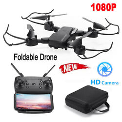 Mini Drone HD Camera WiFi Fpv Aircraft Foldable RC Quadcopter Selfie Drone Toy $40.99