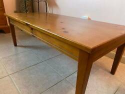WOODEN COFFEE TABLE $25.00
