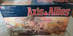 1987 Milton Bradley Gamemaster Series Series Axis And Allies VG+ 100% Complete  $75.00