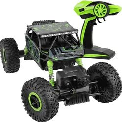 4WD RC Monster Truck Off Road Vehicle 2.4G Remote Control Crawler Car Green $27.99