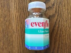 VTG 1995 Evenflo Baby Bottle Clear Glass Nurser Feeding 4 oz Rubber Nipple $24.99