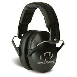 Walkers Game Ear Pro Low Profile Passive Folding Muffs Hearing Protection $27.35
