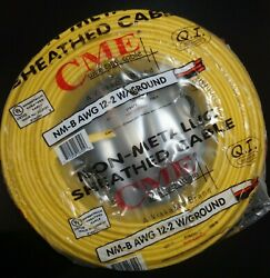 12/2 Romex Wire 12-2 AWG 250ft Non Metallic Cable Copper Electrical Wire 250' $60.00
