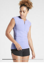 Athleta NWOT Pacifica Tank Victorian Periwinkle Blue Size Medium