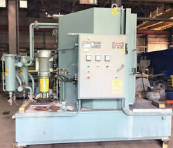 48quot; Proceco Typhoon HD48 48 E 2000 CT 2RD SS Electric Rotary Table Parts Washer $19500.00