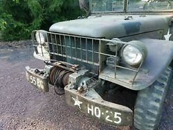 Dodge M37 Military Power Wagon not Jeep.