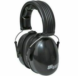 Sig Sauer 231-02950 Black Padded Headband 29 NRR Safety Earmuffs $30.00