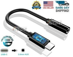 New USB C to 3.5mm AUX Headphone Adapter Type C Jack For Android B $3.99
