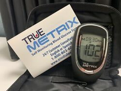 NEW True Metrix Blood Glucose Meter - Meter & Case Only - Free Shipping $9.49