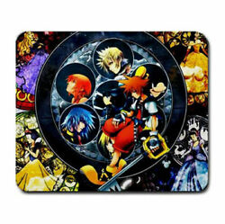 kingdom hearts computer gaming wire wireless mouse pad $11.99