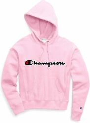 Champion Women's Vintage Hooded Applique Logo Fleece $26.99