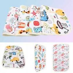 Foldable Washable Baby Waterproof Travel Nappy Diaper Printed Changing Pad MP $3.58