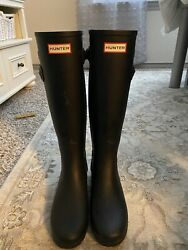 Hunter Refined Tall Boots Size 7 $50.00