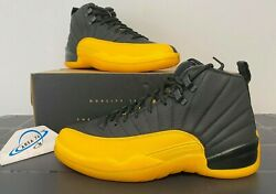 Air Jordan Retro 12 XII University Gold Black 130690 070 Men#x27;s amp; Kid#x27;s Sizes NEW $145.00