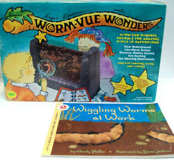 RARE Worm Vue Wonders Earth Worm Kit NEW SEALED Wiggling Worms at Work Book $26.99