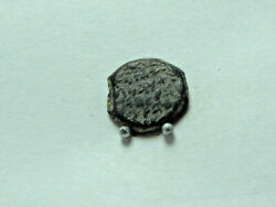 Biblical coin of ALEXANDER JANNAEUS103-76 BCE. AE prutah 14mm; 1.92g. VF.
