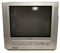Memorex MVDT2002B CRT TV DVD VCR Combo A V Inputs 20quot; TESTED *GREAT* $259.98