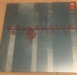 Collective Soul st LP Zia & Bullmoose ExclusiveTurquoise Marble Vinyl Sold out $75.00