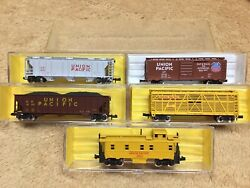 Atlas N Scale Freight Cars Union Pacific $34.95