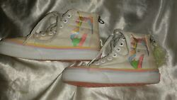 VANS OFF THE WALL UNICORN HIGH TOPS GIRLS SIZE 11.5 $49.99
