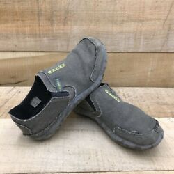 Merrell Boys Slipper Shoes Gray Casual Slip Ons 6M $24.22