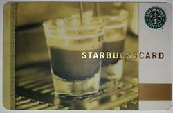 Starbucks Old Logo 2009 Coffee As Art Doubleshot Espresso Australia Card $29.99