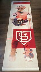 Yadier Molina St. Louis Cardinals Game Used FOX SPORTS MIDWEST VINYL BANNER L@@K $699.99