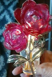 Bathamp;Body Works Wall Flowers Light Up Rose Air Freshener Plug In $19.95