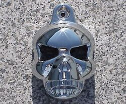 Harley Davidson Softail Dyna Electra Glide Road King CHROME SKULL HORN COVER $29.95