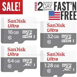 SanDisk Micro SD Card 16GB 32GB 64GB 128GB TF Class 10 for Smartphones Tablets $20.90