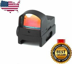Mini Holographic Reflex Micro 3 MOA Green Red Dual Illuminated Dot Sight $22.99