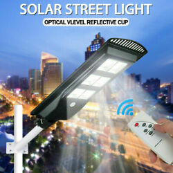 45000LM Solar LED Street Light Commercial Outdoor IP67 Area Security Road Lamp