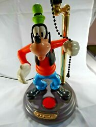 VINTAGE DISNEY GOOFY ANIMATED TALKING LAMP SHADE NOT INCLUDED SEE PHOTOS $64.56