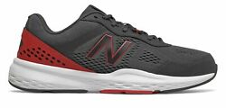 New Balance 517v2 Mens Shoes Grey with Black amp; Red $45.33