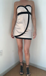 Classy Cocktail Mini Dress Pink And Black Size 6 $12.00