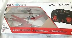 Sky Rover Outlaw Remote Control Helicopter Open Box $27.00