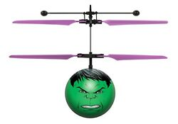 Marvel Avengers HULK IR UFO Ball Helicopter Remote Control Toy $9.95