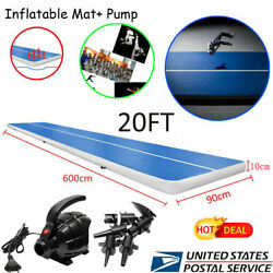 Inflatable Gymnastics Air PadTumbling Air Track Floor for Home Use Training US $280.59