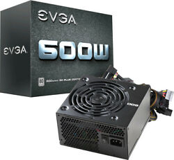 EVGA W1 Series 600W ATX 12V EPS 12V 80 Plus Power Supply Black $39.99
