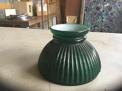 "6"" Cased Green Student Shade $20.00"