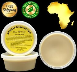 Raw African Shea Butter IVORY 8 oz Unrefined Pure Organic 100% Natural Ghana $6.99