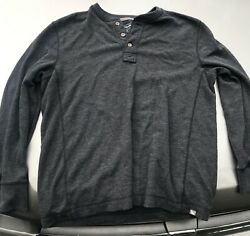 EDDIE BAUER outdoor large pullover thermal shirt FREE SHIPPING $22.00
