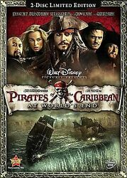 Brand New Pirates of the Caribbean: At Worlds End 2 Disc Set LIMITED EDITION $6.97