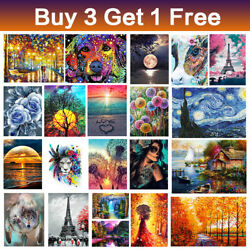 DIY 5D Diamond Painting Embroidery Art Craft Kit for Adults kids Home Wall Decor $8.99