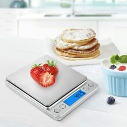 Digital Scale 0.1g Kitchen Food Gram Scale Electronic Weight Pocket Size new $10.05